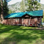 Cabin in the Park at Wallowa Lake